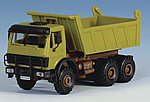 Mercedes Benz Gravel Truck Kit -- HO Scale Model Railroad Vehicle -- #14053