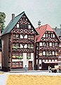 2 Timber Framed Houses - Z-Scale