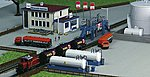 Office Building w/Fuel Tanks Kit -- Z Scale Model Railroad Building -- #36727