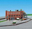 Factory Building Kit -- Z Scale Model Railroad Building -- #36762