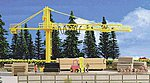 Timber Yard & Crane Kit -- HO Scale Model Railroad Building -- #39817