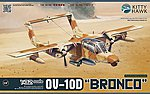 OV10D Bronco Turboprop Light Attack Aircraft -- Plastic Model Airplane Kit -- 1/32 Scale -- #32003