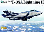 F35A Lightning II Fighter -- Plastic Model Airplane Kit -- 1/48 Scale -- #80103