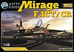 Mirage F1 CT/CR Fighter -- Plastic Model Airplane Kit -- 1/48 Scale -- #80111