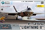 F35C Lightning II Fighter -- Plastic Model Airplane Kit -- 1/48 Scale -- #80132