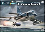 Super Etendard Strike Fighter -- Plastic Model Airplane Kit -- 1/48 Scale -- #80138