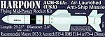 Harpoon AGM-84A -- Level 3 Model Rocket Kit -- #12