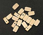 Single Block 7mm (15) -- Wooden Boat Model Accessory -- #8515
