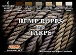 Hemp Ropes & Tarps Diorama Acrylic Set (6 22ml Bottles)