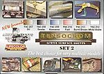Tensocrom Weathering #2 Acrylic Paint (6 22ml Bottles) -- Hobby and Model Acrylic Paint Set -- #tsc2