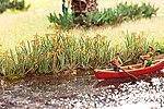 Water Lilies SceneMaster Botanicals Kit -- Model Railroad Grass Earth -- HO Scale -- #1077
