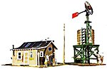 Western Homestead Kit -- Model Train Building -- HO Scale -- #1338