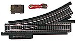 Remote Control Turnout Power-Loc(TM) Right Hand -- Model Train Track Steel -- HO Scale -- #21305