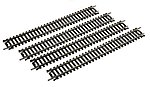 9'' Straight Track (4) Code 100 Nickel Silver -- Model Train Track -- HO Scale -- #3001