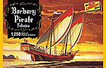 Barbary Pirate Ship -- Plastic Model Sailing Ship Kit -- 1/250 Scale -- #205