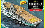 USS Shangri La CVA-38 -- Plastic Model Military Ship Kit -- 1/900 Scale -- #442