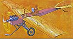 1911 Martin-Handasyde Monoplane (Re-Issue) -- Plastic Model Airplane KIt -- 1/48 Scale -- #504