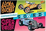 Customizable Street Rod (2) -- Plastic Model Car Kit -- 1/32 Scale -- #hl136