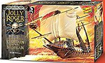 Jolly Roger Series Captain Morgan -- Plastic Model Sailing Ship Kit -- 1/130 Scale -- #hl219-12