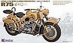 1/35 WWII German BMW R75 Motorcycle (2) (Plastic Kit)