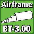 Airframe Tubing 3.00 inch -- Model Rocket Body Tube -- #bt300