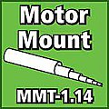 Motor Mount Tube 1.14 inch -- Model Rocket Body Tube -- #mmt114