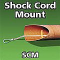 Shock Cord Mount -- Model Rocket Recovery Supply -- #scm2