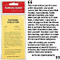 Parking Tickets (25) Prank -- Novelty Toy -- #7