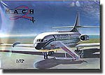 SE210 Caravelle UAL/AF/Air International Airliner -- Plastic Model Airplane Kit -- 1/72 -- #23