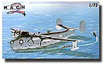 US Navy Consolidated PB2Y Coronado WWII Flying Boat -- Plastic Model Airplane Kit -- 1/72 -- #35