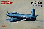 A2D1 Skyshark USN Monoplane -- Plastic Model Airplane Kit -- 1/72 Scale -- #37