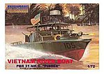 USN PBR 31 Mk II Pibber Patrol Boat Vietnam -- Plastic Model Military Ship Kit -- 1/72 Scale -- #ar6