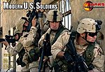 Modern US Soldiers (45) -- Plastic Model Military Figure -- 1/72 Scale -- #72003