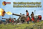 17th Century Artillery Serving Staff -- Plastic Model Military Figure -- 1/72 Scale -- #72023