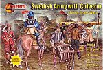 Thirty Years War Swedish Army w/Large Siege Gun -- Plastic Model Military Figure -- 1/72 -- #72031