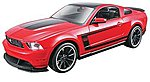 AL 2012 Ford Mustang Boss 302 -- Metal Body Plastic Model Car Kit -- 1/24 Scale -- #39269