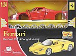 AL Ferrari Enzo Metal -- Metal Body Plastic Model Car Kit -- 1/24 Scale -- #39964