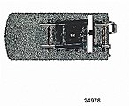 3-Rail C Track - Track End w/Bumper & Lantern -- HO Scale Nickel Silver Model Train Track -- #24978