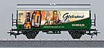 Reefer 3-Rail Ready to Run My World - Eichbaum Beer -- HO Scale Model Train Freight Car -- #44207
