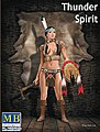 1/24 Thunder Spirit Western Style Pin-Up Indian Girl