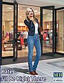 1/24 Kate Modern Woman wearing Casual Outfit w/Hand to Ear (New Tool)