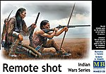 1/35 Remote Shot Indian Warriors Kneeling w/Rifles (2) (New Tool)