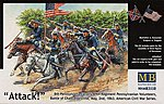 8th Pennsylvania Cavalry 89th Regiment -- Plastic Model Military Figure -- 1/35 Scale -- #3550