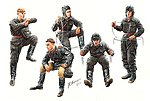 Soviet Tank Crew 1943-45 (5) -- Plastic Model Military Figure -- 1/35 Scale -- #3568