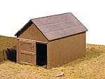 Small Shed -- Model Train Building -- HO-Scale -- #70605