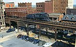 Double Track City Viaduct Kit 150' -- Model Train Bridge -- HO Scale -- #75512