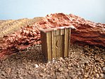 Outhouse Pkg(2) -- Model Railroad Building -- N Scale -- #80151
