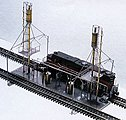 Diesel Service Facility - Z-Scale