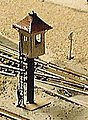 Railroad Watchman's tower - Z-Scale
