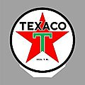 TEXACO ROTATING SIGN -- O Scale Model Railroad Sign -- #55010